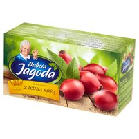 Babcia Jagoda Herbatka owocowa z dziką różą 40g (20 tb)