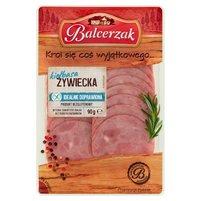 Balcerzak Kiełbasa żywiecka extra wieprzowa 90g