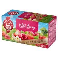 Teekanne World of Fruits Wild Berry Aromatyzowana mieszanka herbatek 40g (20 tb)