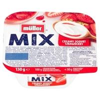 MÜLLER Mix Jogurt z wsadem owocowym 130g