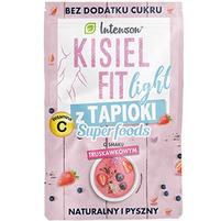 INTENSON Kisiel Fit light z tapioki o smaku truskawkowym 30g