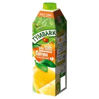 Tymbark Sok 100% pomarańcza cytryna 1 l