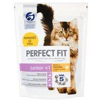 Perfect Fit Junior <1 Karma pełnoporcjowa dla kociąt oraz kotek ciężarnych i karmiących 750g