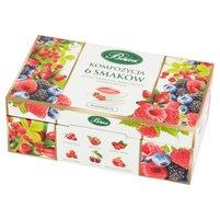 Biofix Zestaw herbatek owocowych ekspresowych kompozycja 6 smaków 120g (60 tb)