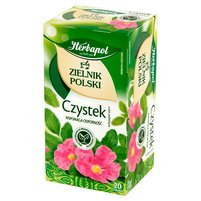 Herbapol Zielnik Polski Suplement diety herbatka ziołowa czystek 40g (20 tb)