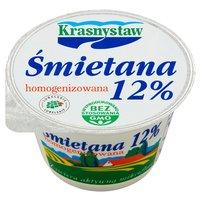 Krasnystaw Śmietana 12% homogenizowana 150g