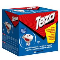 TEZA Elektrofumigator z płynem na komary (1 sztuka)