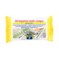 ECO+ Uniwersalne chusteczki do czyszczenia - cytrynowe