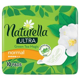 Naturella Ultra Normal Green Tea Magic Podpaski 10szt
