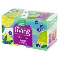 Irving Owocowy Ogród Herbatka owocowa jagoda z limetką 40g (20 tb)