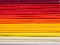 Bibuła marszczona, 25x200 cm, 10 rolek, miks 8 kolorów ciepłych, Happy Color