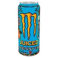Monster Energy Mango Loco Gazowany napój energetyczny 500ml