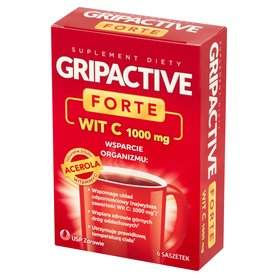 Gripactive Forte Suplement diety 17,1g (6x2,85g)