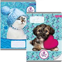 Beniamin The Sweet Pets Zeszyt miękki A5 16 kartek w kratkę 1szt.