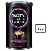 Nescafé Gold Espresso Intenso Kawa rozpuszczalna 95g