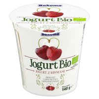 Bakoma Jogurt Bio z wiśniami 140g