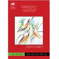 Happy Color Blok szkicowy A4/50K 90g 1szt.