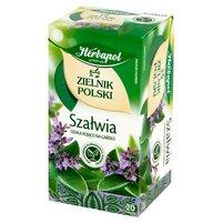 Herbapol Zielnik Polski Herbatka ziołowa szałwia 24g (20 tb)