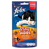 Felix Play Tubes Łakocie o smaku kurczaka i wątróbki 50g