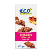 €.C.O.+ czekolada mleczna z bakaliami 100g