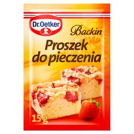 Dr. Oetker Backin Proszek do pieczenia 15g
