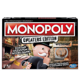 HASBRO Monopoly: Cheaters Edition Gra strategiczna (8+)