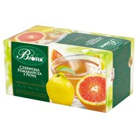 Biofix Premium czerwona pomarańcza z pigwą Herbatka owocowa 40g (20 tb)