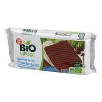 BIO WM Wafle ryżowe w polewie z czekolady mlecznej 90g