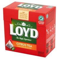 Loyd Herbata czarna aromatyzowana o smaku owoców cytrusowych 34g (20 tb)