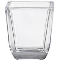 BOLSIUS Świecznik szklany do wkładek kwadrat. przezroczysty (65x58mm)