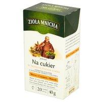 Big-Active Zioła Mnicha Na cukier Herbatka ziołowa z dodatkiem herbaty zielonej 40g (20 tb)