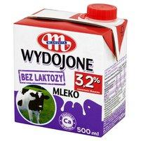 Mlekovita Wydojone Mleko bez laktozy 3,2% 500ml