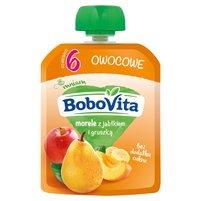 BoboVita Mus morele z jabłkiem i gruszką po 6. miesiącu 80g