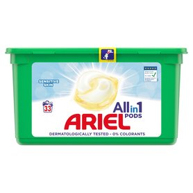 Ariel Allin1 Pods Sensitive Kapsułki do prania 850g (33 prania)