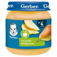 Gerber Gruszki Williamsa dla niemowląt po 4. miesiącu 125g