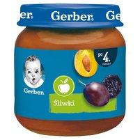 Gerber Śliwki dla niemowląt po 4. miesiącu 125g