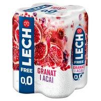 Lech Free Piwo bezalkoholowe granat i acai 4x500ml