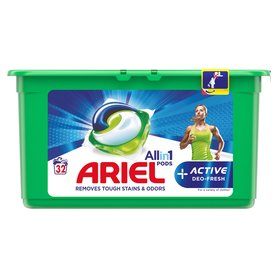 Ariel Allin1 +Active Odor Defense Kapsułki do prania 850g (32 prań)