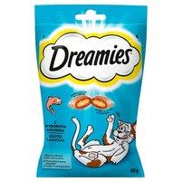Dreamies Karma uzupełniająca z wybornym łososiem 60g