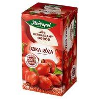 Herbapol Herbaciany Ogród Herbatka owocowo-ziołowa dzika róża 70g (20 tb)