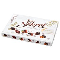 Mieszko Twój Sekret Praliny w czekoladzie mlecznej i deserowej 139g