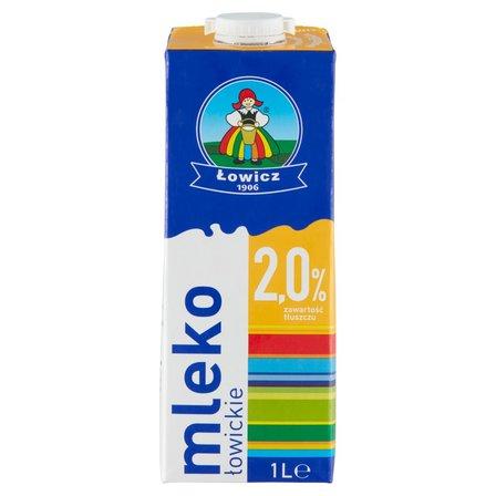 Łowicz Mleko łowickie UHT 2,0% 1l (2)