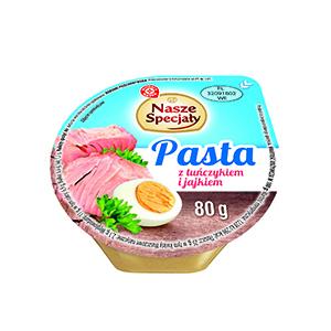 Wiodąca Marka Pasta z jajkiem i tuńczykiem 80g (2)
