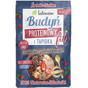 INTENSON Budyń proteinowy z tapioką o smaku czekoladowym 30g (1)