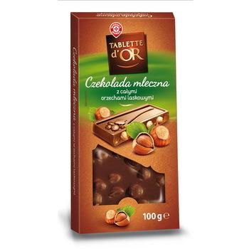 WM czekolada mleczna z całymi orzechami laskowymi 100g (2)