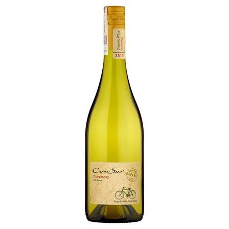 Cono Sur Chardonnay Wino białe wytrawne chilijskie 750ml (1)