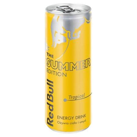 Red Bull Napój energetyczny owoce tropikalne 250ml (1)