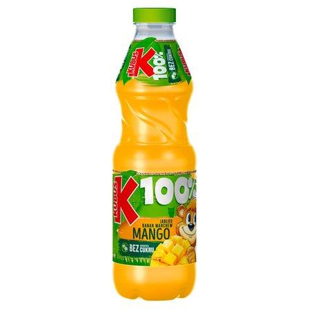 Kubuś 100% Sok jabłko banan marchew mango 850 ml (1)