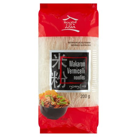House of Asia Makaron ryżowy vermicelli 200g (1)