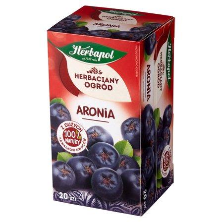 Herbapol Herbaciany Ogród Herbatka owocowo-ziołowa aronia 70g (20 tb) (1)